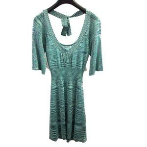 GUESS JEANS Blue Teal Dress Size Large